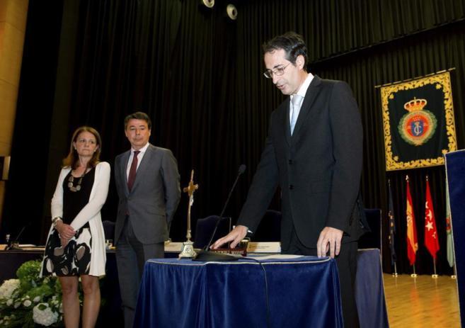 El presidente Ignacio González, durante la toma de posesión del...