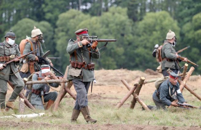 Conmemoración del cien aniversario del inicio de la Primera Guerra...