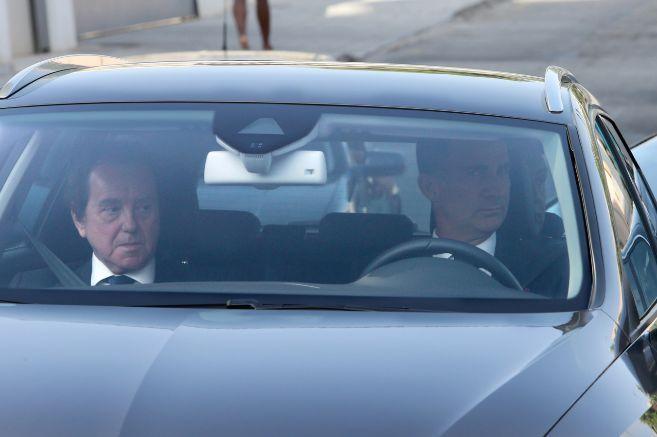 Felipe VI junto a Jaime Alfonsín llega a Malllorca.