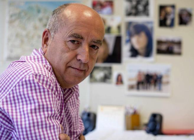 El secretario general de UGT de Euskadi, Raúl Arza.