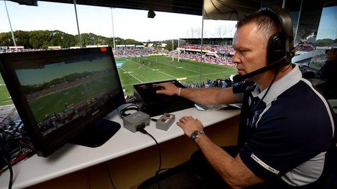 En el rugby ya se usa la figura del árbitro de vídeo en las...