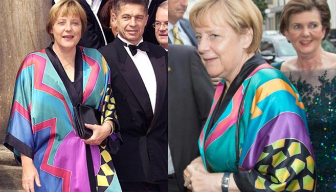 Merkel, antes y después.
