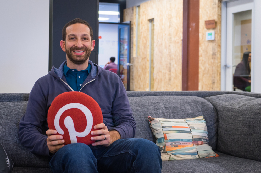 Matt Crystal, responsable de la división internacional de Pinterest.