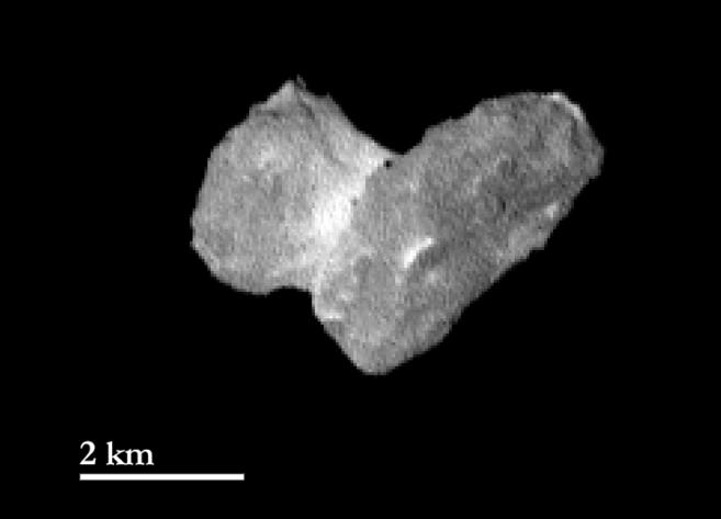 El cometa 67P/Churyumov-Gerasimenko, fotografiado por la sonda...