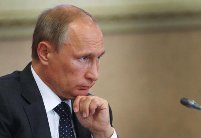 El presidente ruso Vladimir Putin en un encuentro de la...
