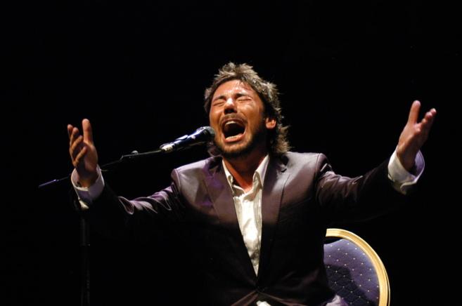 El cantaor flamenco Miguel Poveda