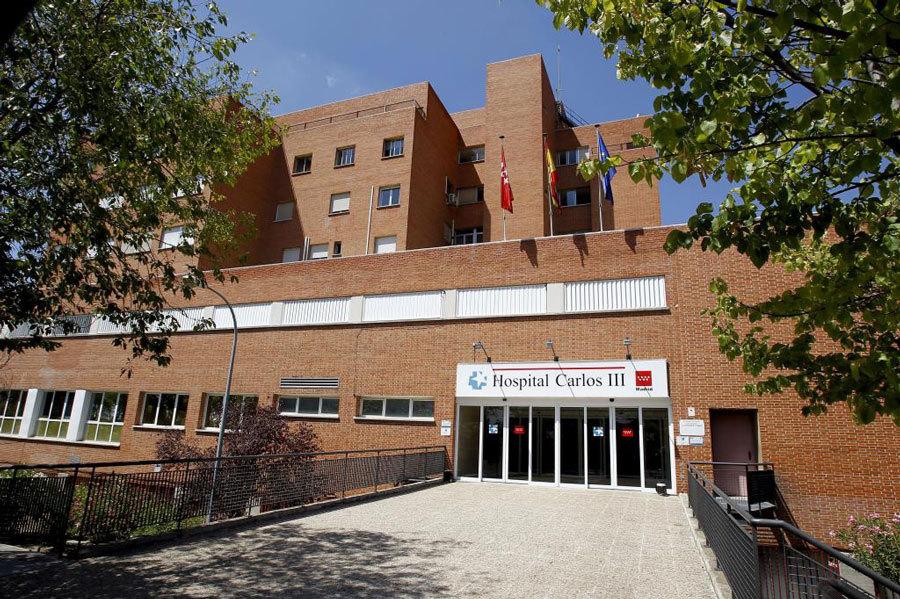 Fachada del Hospital Carlos III, que albergará al padre Miguel...