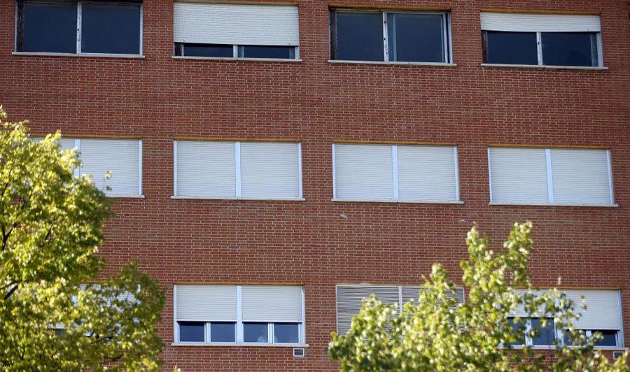La sexta planta del hospital, habilitada para alojar a Miguel Pajares,...