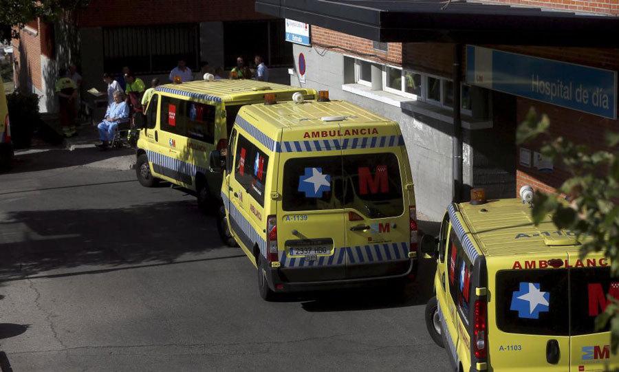 Enfermos evacuan el hospital Carlos III por la llegada del religioso...
