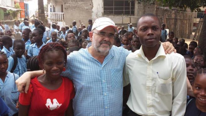José Luis Viadero, director general de Juan Ciudad ONGD, durante una...