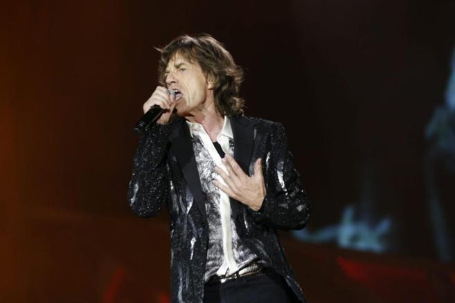 El cantante Mick Jagger, durante un concierto en Oslo.