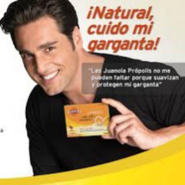 David Bustamante y la Juanola Propolis. De este anuncio no hay...