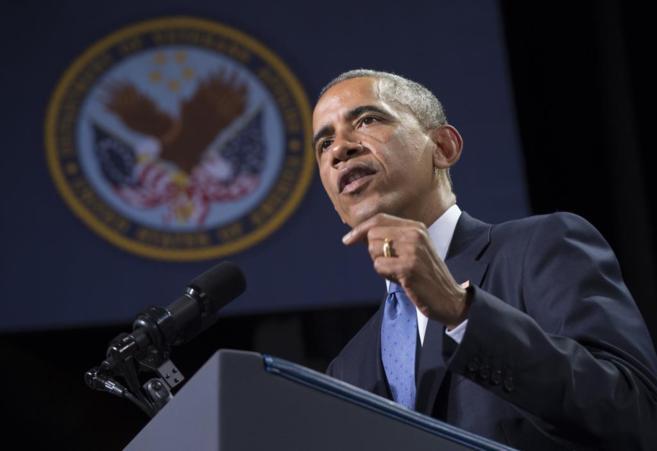 El presidente de Estados Unidos, Barack Obama, en Virginia.
