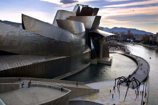 El Museo Guggenheim de Bilbao.