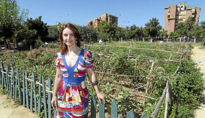 Ana García, directora de la escuela de adultos del Polígono Sur, en...