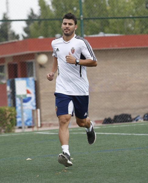 El futbolista Braulio Nóbrega realizaba unas pruebas cuando jugaba en...