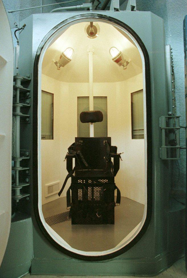 Cámara de ejecuciones en la prisión de Florence (Phoenix)