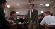 Imagen de Robin Williams en 'El club de los poetas muertos'.