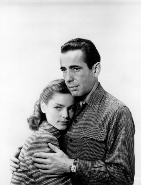 Bacall y Bogart, en los 50.