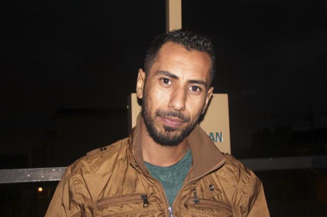 Omar Abu Laila, portavoz del Frente Norte del Ejército Libre de...
