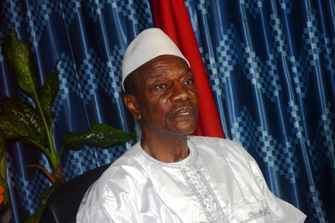 Alpha Condé, presidente de Guinea Conakry.