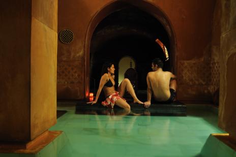 Baños árabes de Hammam Al Ándalus.