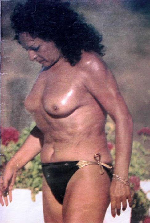 Lola Flores en septiembre de 1983 en Marbella.