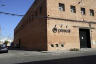 7 DE AGOSTO. En Sevilla, la sede del grupo Prescal está tranquila.