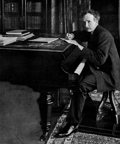 El compositor Richard Strauss