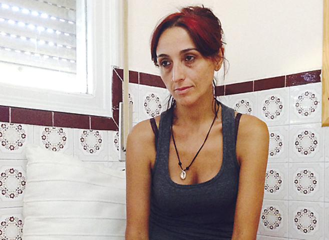 Helena Maleno, ayer en su casa de Tánger