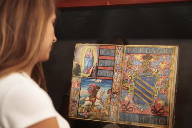 Una de las piezas expuestas en el Palacio de los Olvidados, museo...