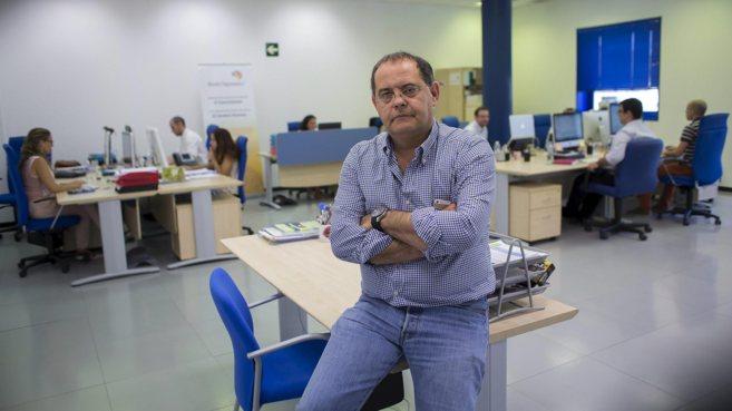 Antonio García, director general de Brain Dynamics, en la sede de la...