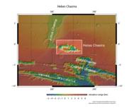 Emplazamiento de Hebes Chasma.