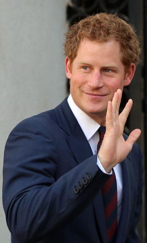 Príncipe Enrique (29). El hijo de la fallecida Lady Di se ha hecho...