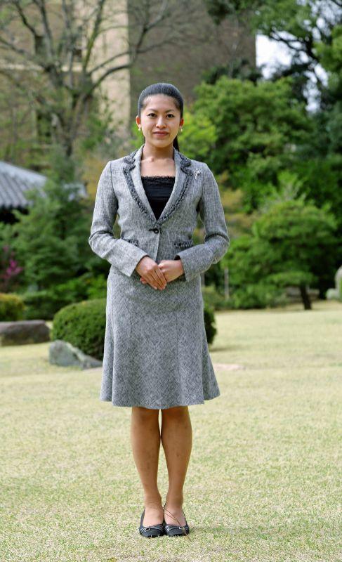 Princesa Tsuguko de Takamado (28). Es la sobrina del emperador...