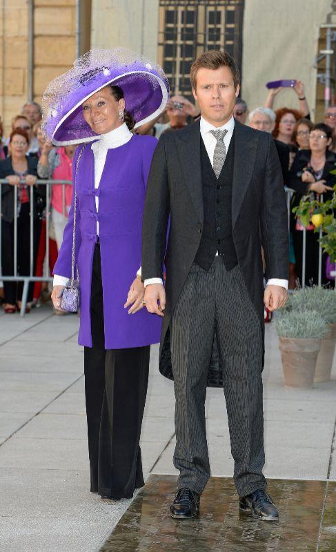 El príncipe Wenzeslaus de Liechtenstein (40). Es el hijo del...