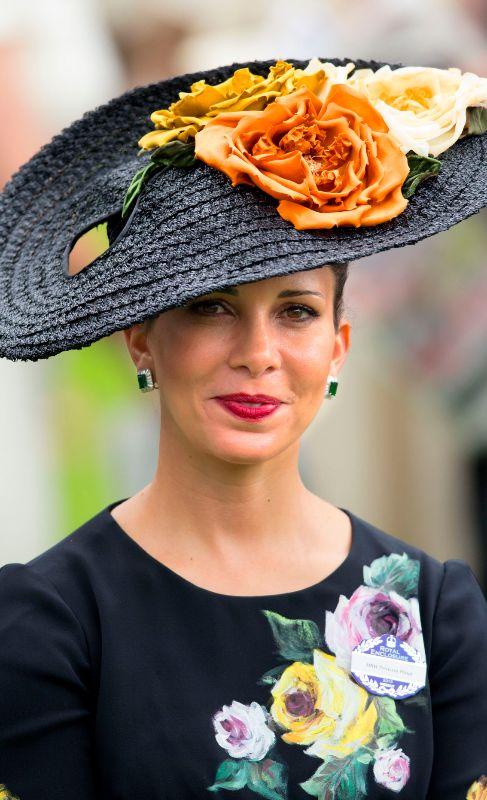 Princesa Haya Bint Al Hussein (40).  Es una apasionada del deporte y...