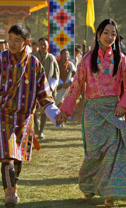 La princesa Sonam Dechan Wangchuck de Bután (33). La cuarta hija del...