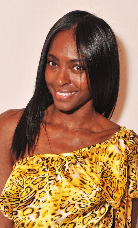 Princesa Keisha Omilana de Nigeria. La esposa del príncipe Kunle...