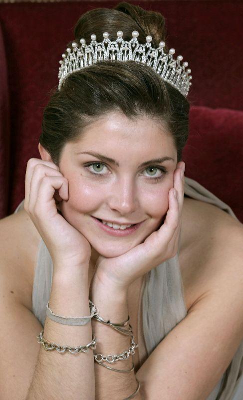 Augusta Lily von Preussen (27). Es nieta del príncipe Jorge Federico...