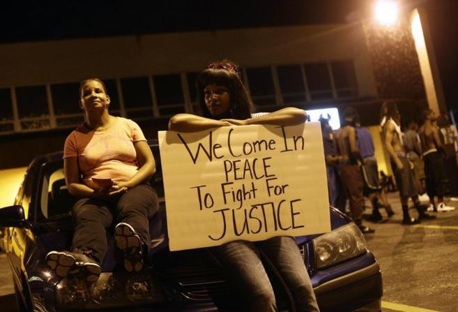 Protestas en Ferguson contra el asesinato de Michael Brown