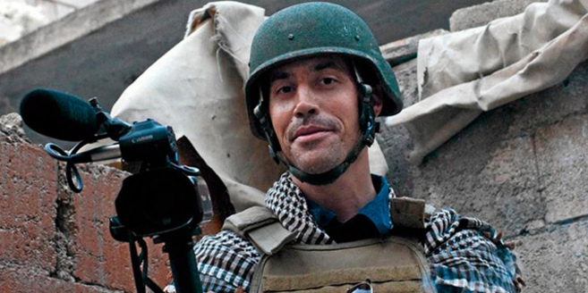 El reportero 'freelance' James Foley, en una foto tomada en...