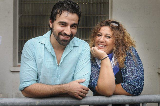 Los protagonistas de 'Los Miserables', Felipe Forastiere y...