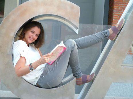 La escritora y periodista Lidia Herbada.