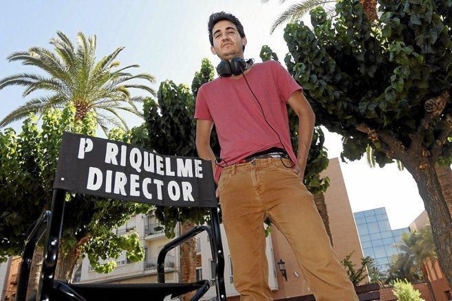 El joven director oriolano Pablo Riquelme.