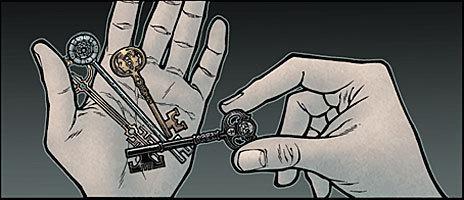 Las llaves, el principal misterio de 'Locke & Key'.