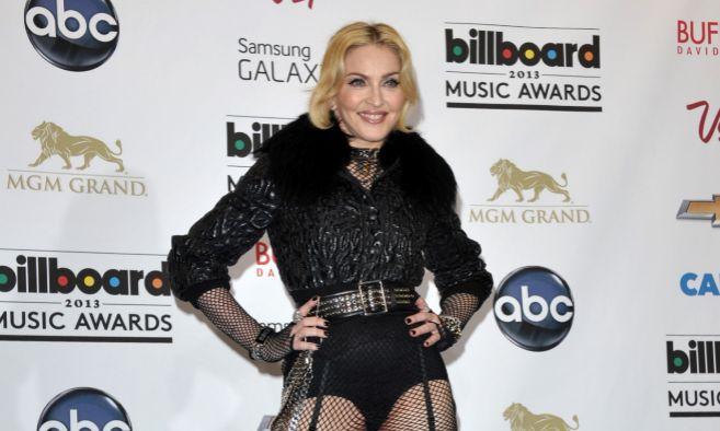 Madonna durante los premios musicales Billboard en Las Vegas.