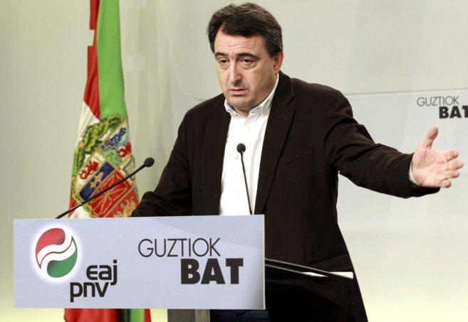 El portavoz del PNV Aitor Esteban.