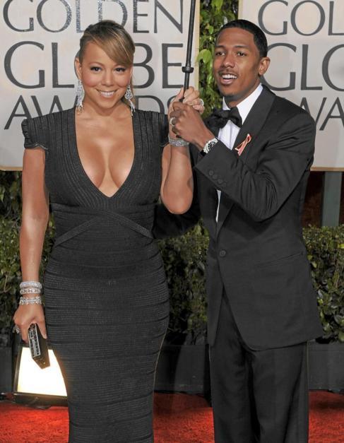 Mariah Carey y Nick Cannon.