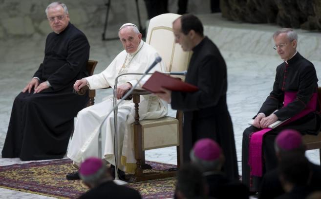 El Papa Francisco durante su última Audiencia General